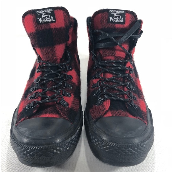 739e659a81c8 Converse Woolrich Chuck Taylor Street Hiker Boots